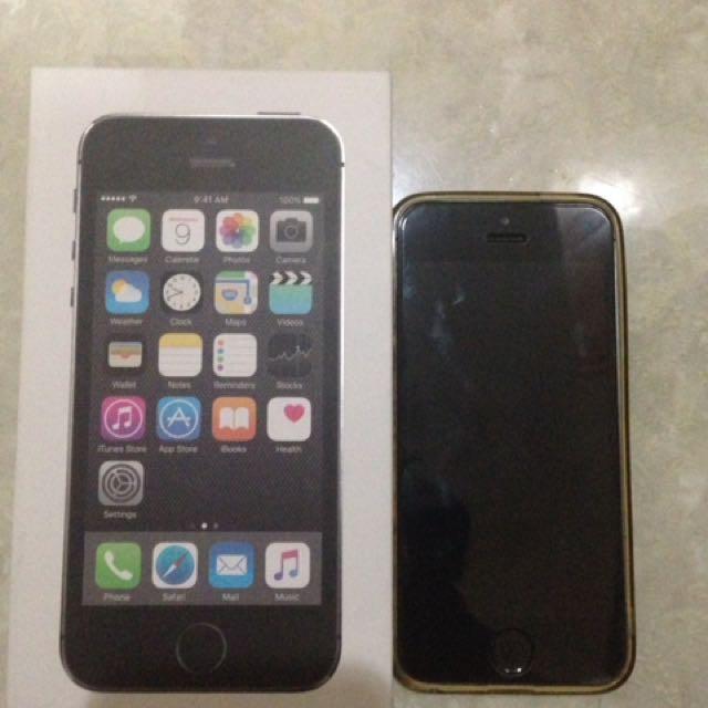 Iphone 5s 16 Gb Jual BU