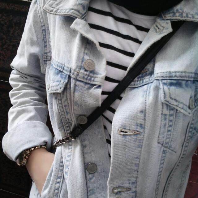 Jaket Jeans Topshop