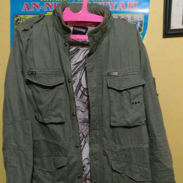 Jaket parka Bilabong Army