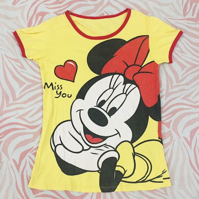 Kaos Minnie Mouse