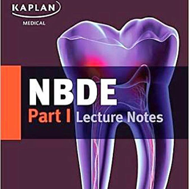 Kaplan Nbde Part 1 Lecture Notes 2017
