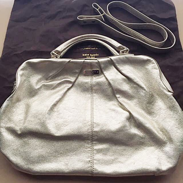 Kate Spade Gold 2-way Bag