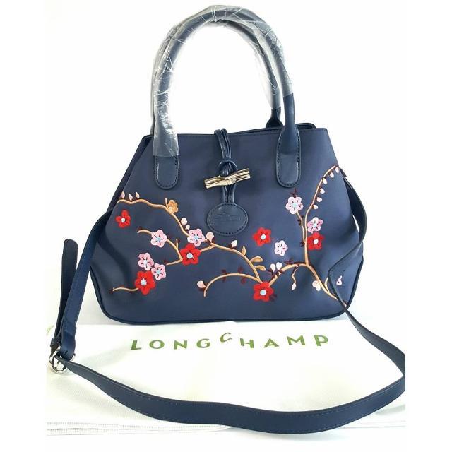 Longchamp Roseau Sakura Edition Satchel Bag