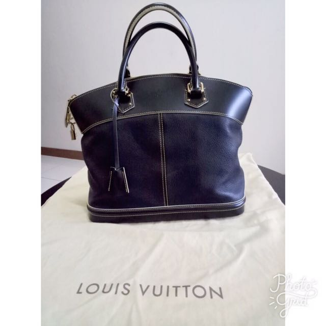 Louis Vuitton Lockit MM Suhali Noir