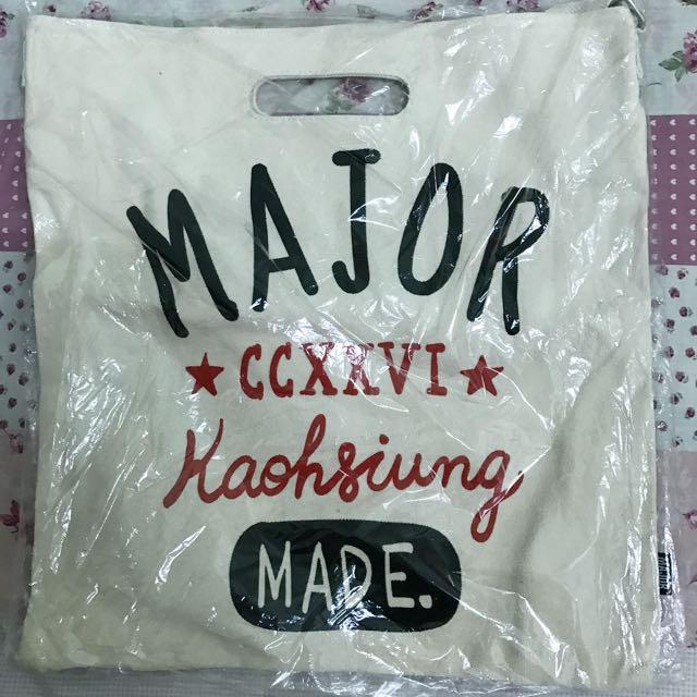 Major made 手提側背帆布袋