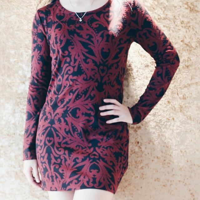 Mark N Spencer Pattern Dress