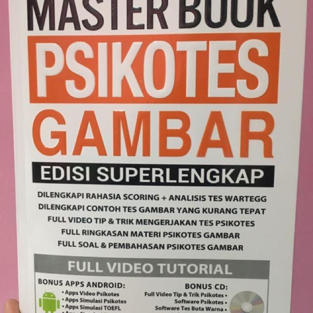 Master Book Psikotes Gambar