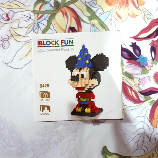 Mickey Mouse iBlock Fun
