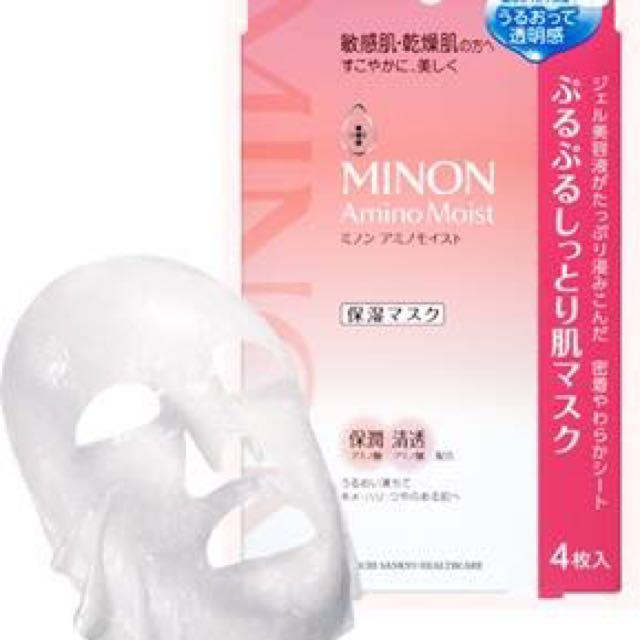 日本Minon無刺激氨基酸面膜