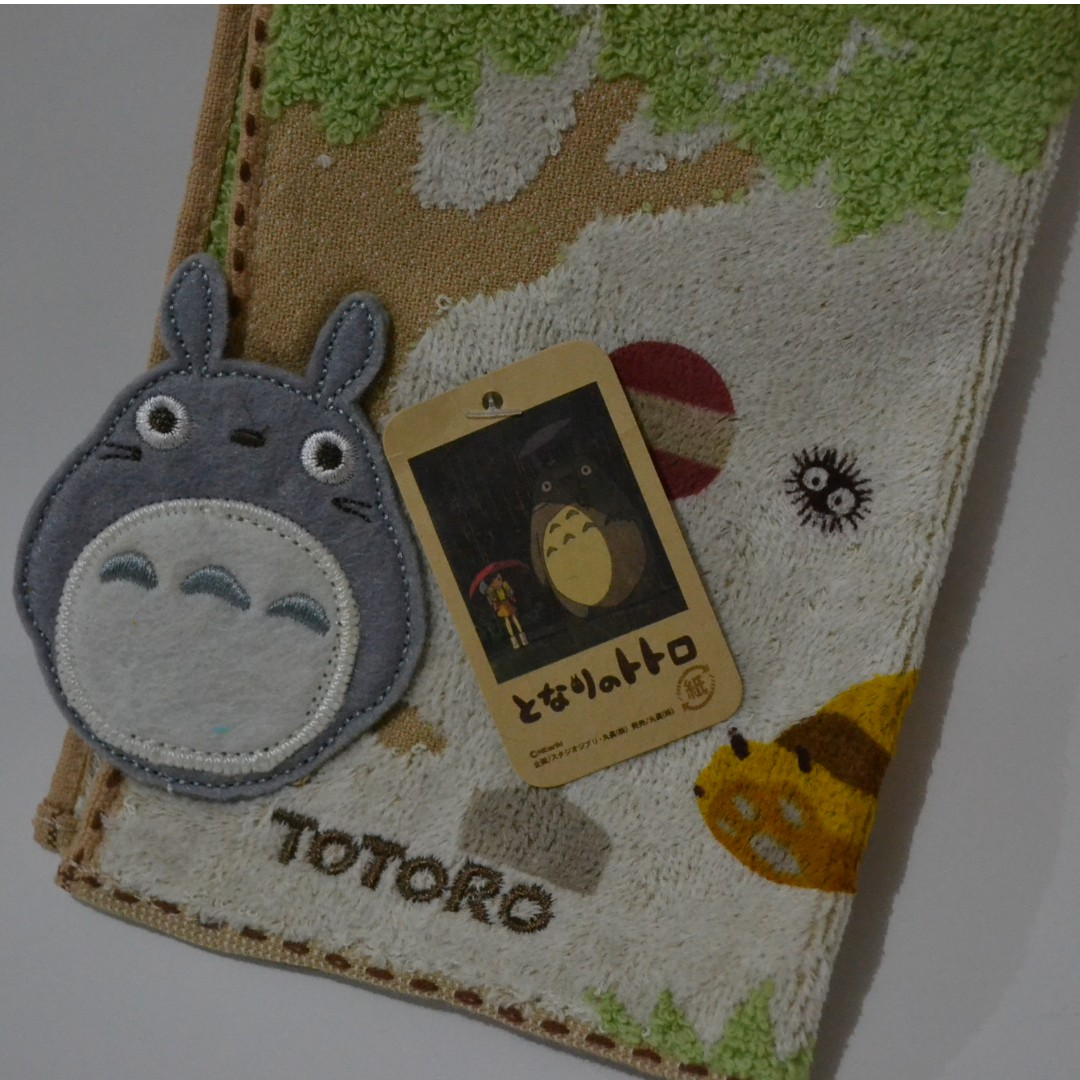My Neighbour Totoro となりのトトロ Face towels (Imported from Japan)