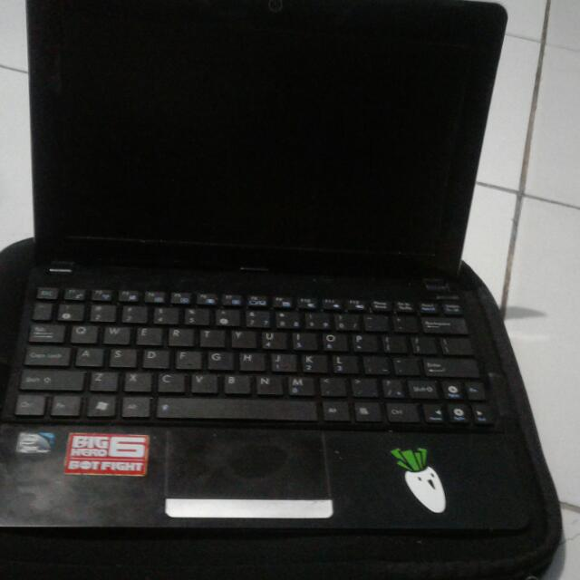 Netbook Asus Eee Pc 1015px Free Tas Laptop Doraemon