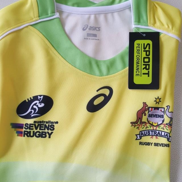 New Australia Rugby Sevens Jersey Sports On Carousell