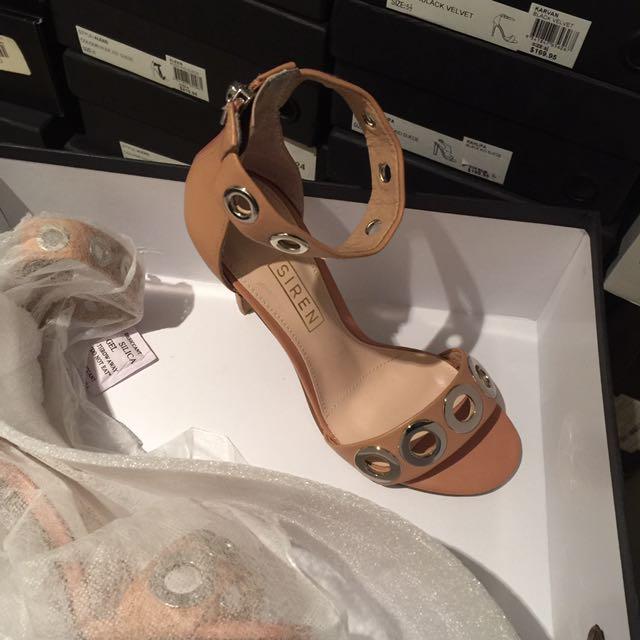 New Siren Heel Sandals