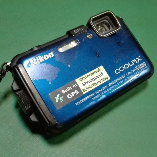NIKON Coolpix Underwater Camera
