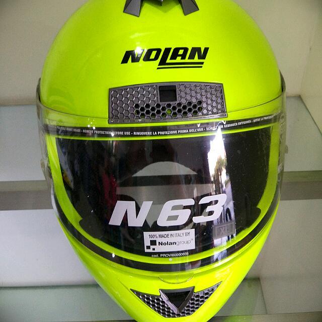 Helm Nolan N63 - Fluorescent