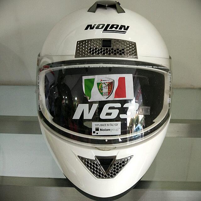 Helm Nolan N63 - White