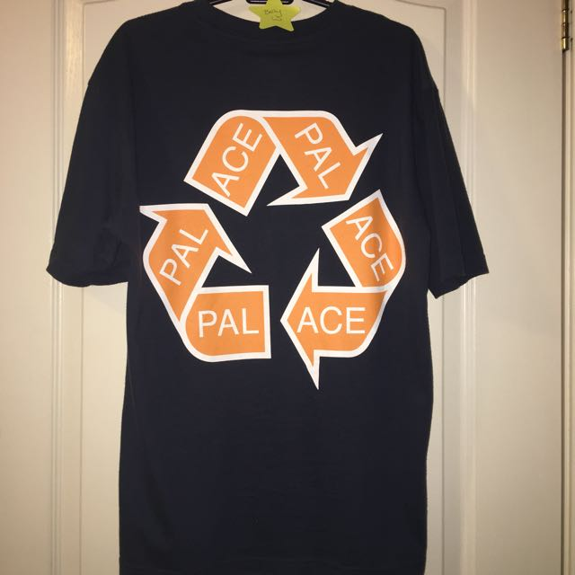 Palace Recycle Tee Sz M Authentic Deadstock