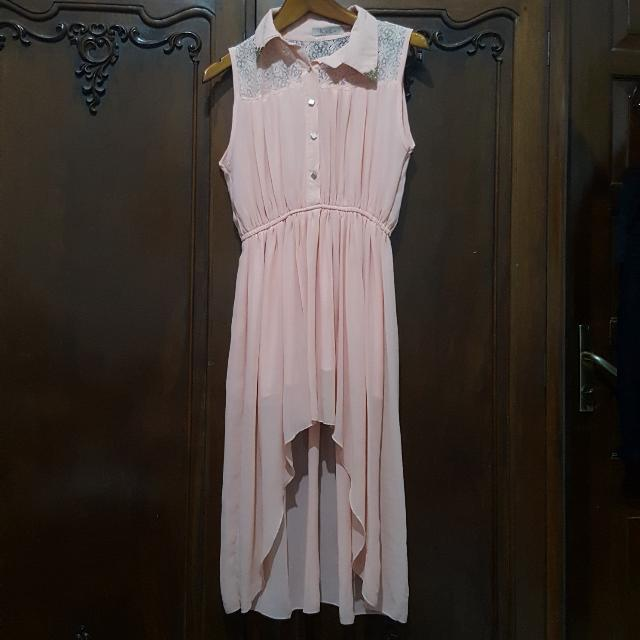 NYLA peach dress