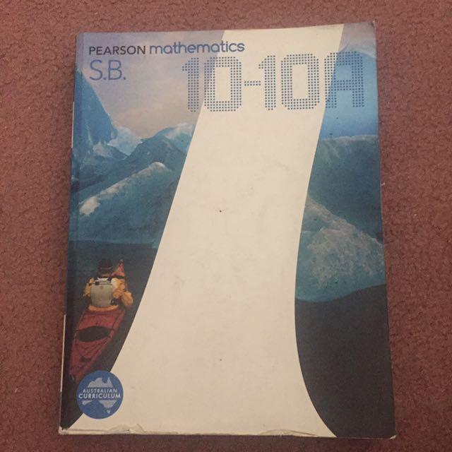 Pearson Mathematics 10-10A