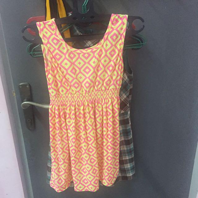 peplum top dress