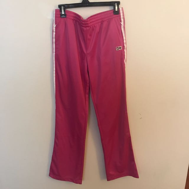 Pink Fila Sweatpants