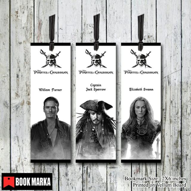 Pirates of the Caribbean Bookmarks