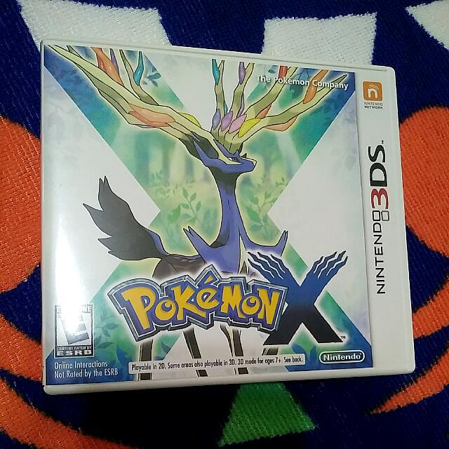 Pokemon X / Pokemon Alpha Sapphire Nintendo 3DS