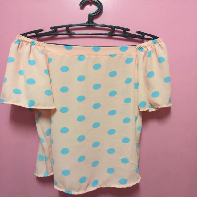 Polca Dots Off Shoulder