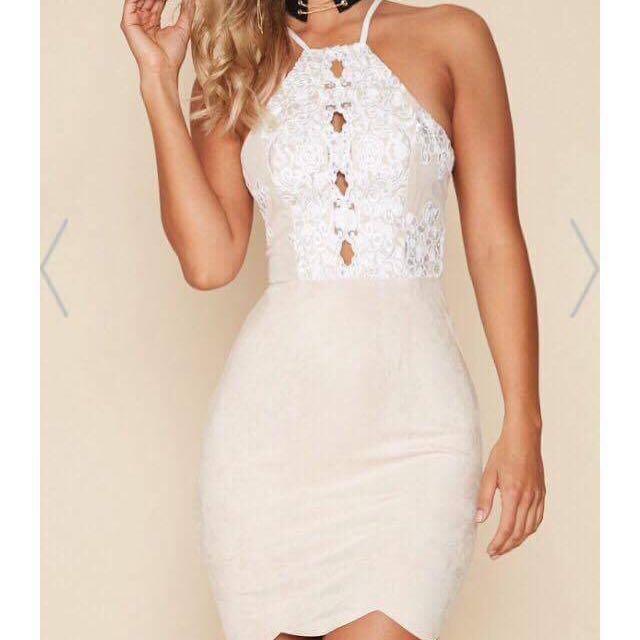 Popcherry Nude Lace Dress