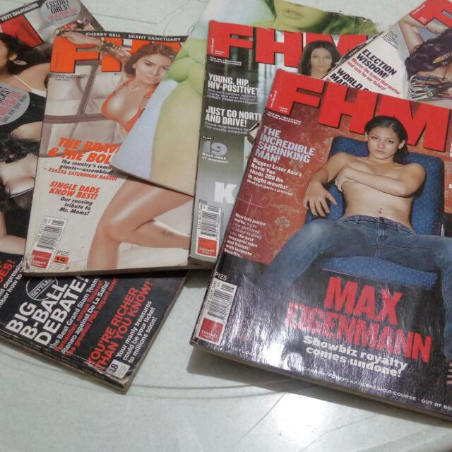 Preloved FHM 2008 - 2010 Magazine