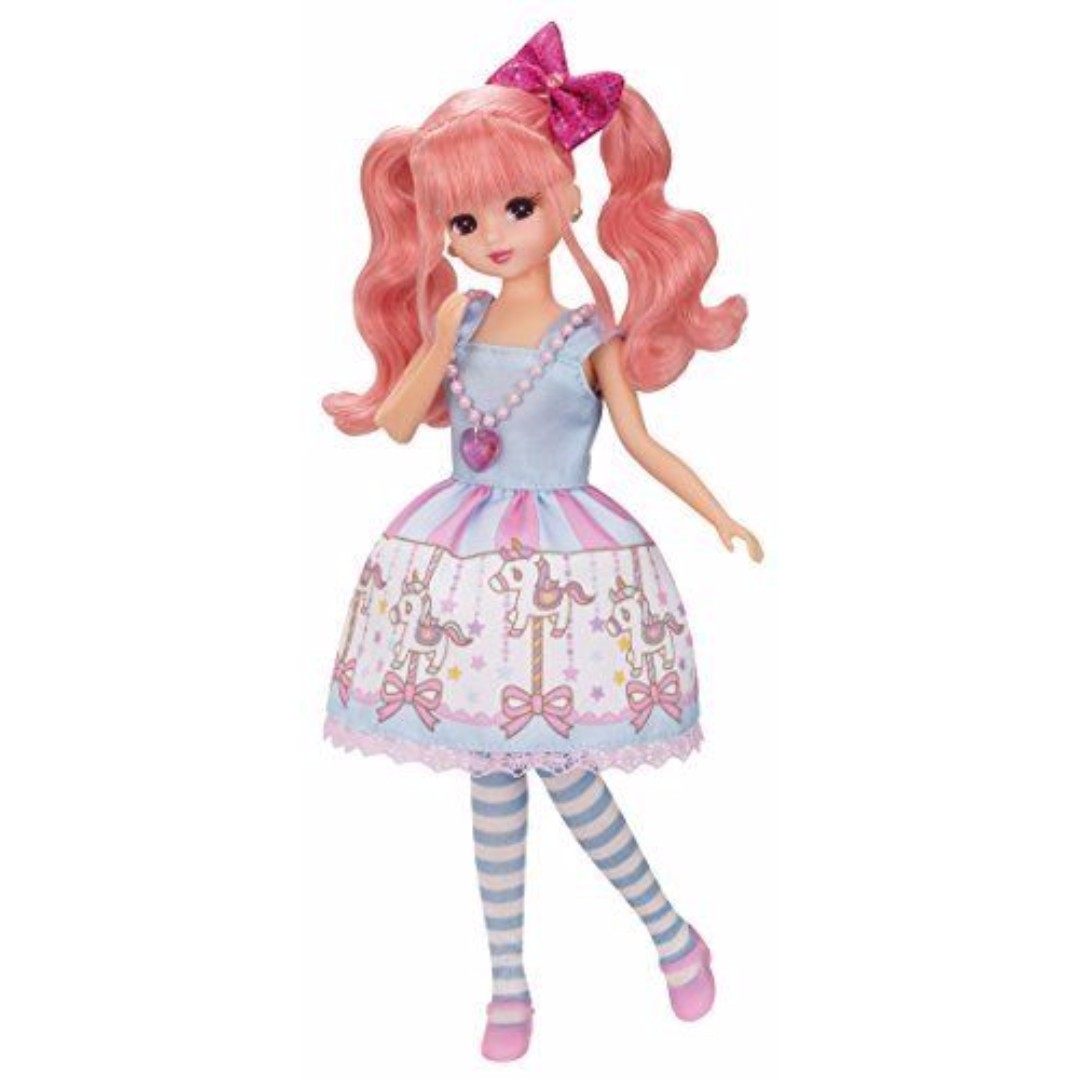 [Pre-order] Takara Tomy Licca Licca Doll Merry-go-round Rika chan