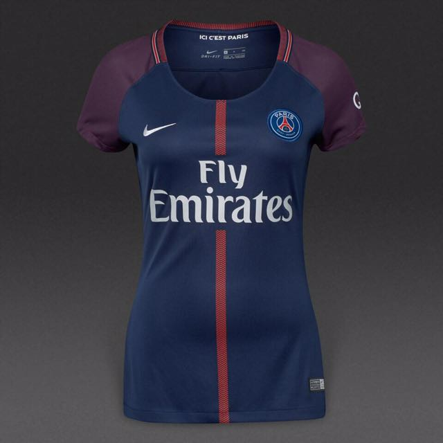 cheap for discount 486a5 bc98a PSG Women 2017 Home Jersey