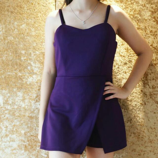 Purple Junpsuit