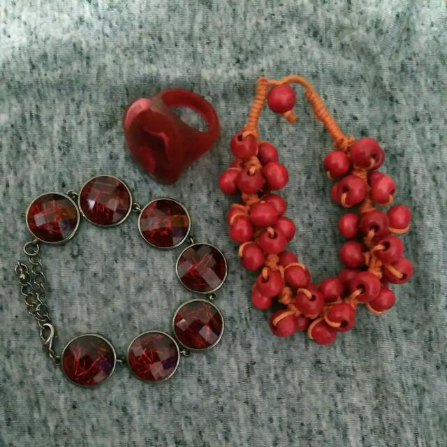 Red Lover's Accesories Package