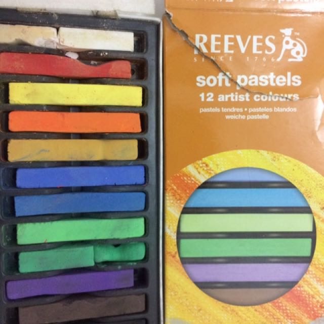 REEVES SOFT PASTELS