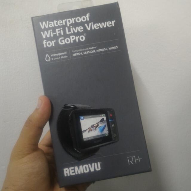 Removu R1 live viewer for Gopro