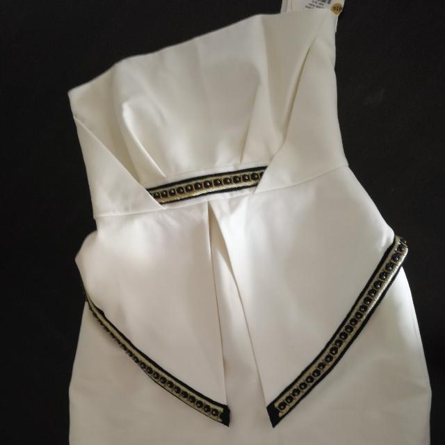 Sass & Bide Do Something Good Strapless Dress Size 10