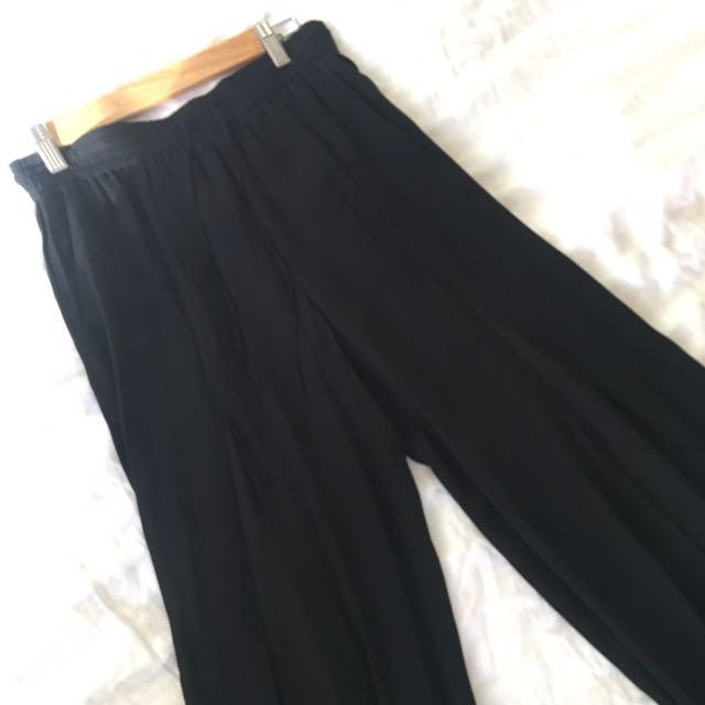 Sass & Bide Pants with split Down Both Legs - Size 8