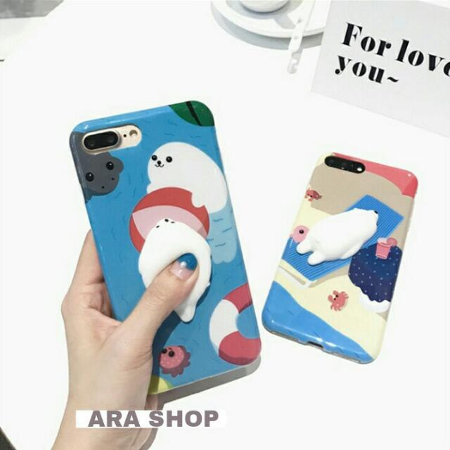 Seal Squishy iPhone Case