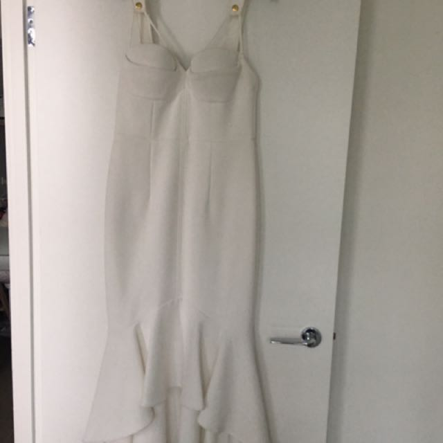 Sheike White Mermaid Dress