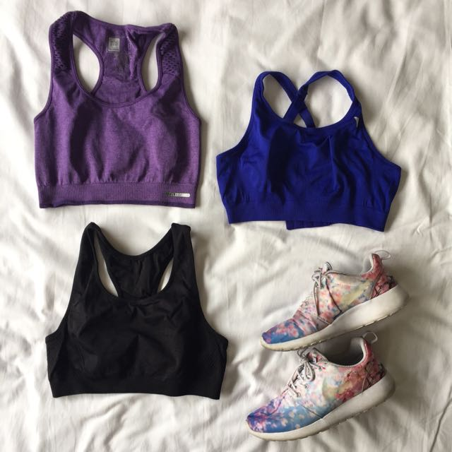 Sports Bras (pack of 3)