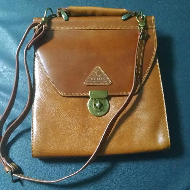 St. Luis Leather Bag Satchel Type