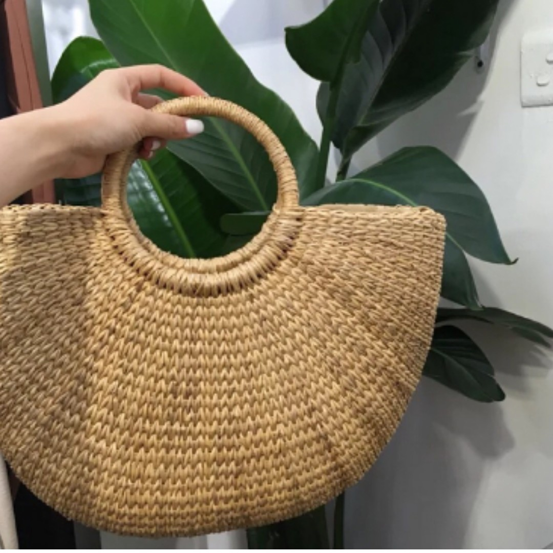 Straw Bag / Summer Bag