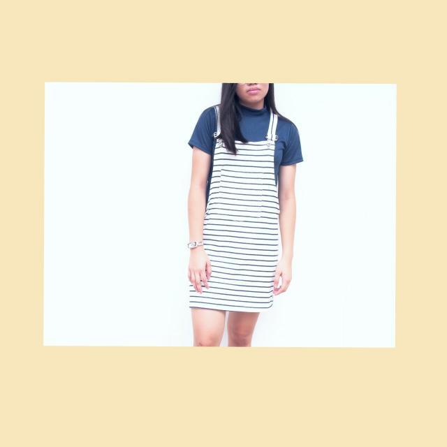 Stripes Jumper Dress