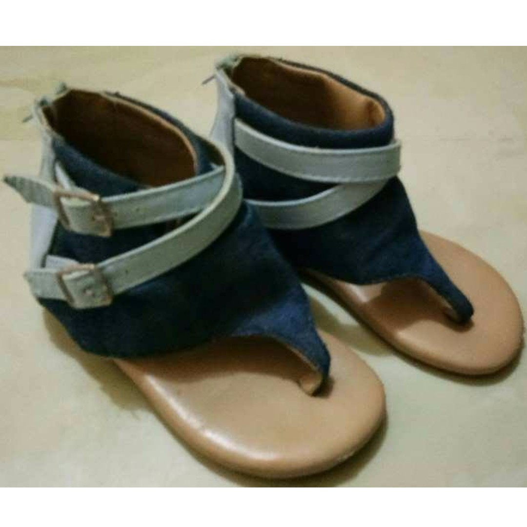 Sugar Kids Sandals w/Zipper