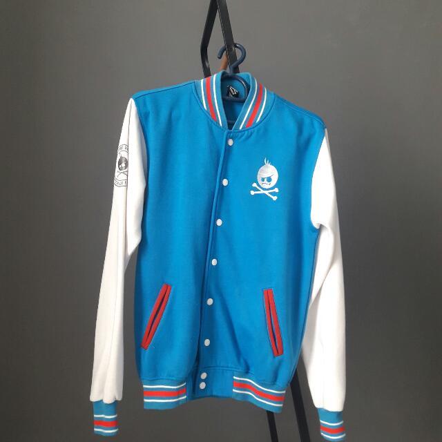 Tee41 Blue Varsity Jacket
