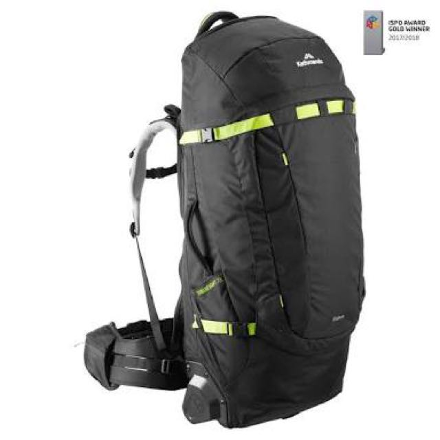 Terrane Adapt 70L Pack With Wheels
