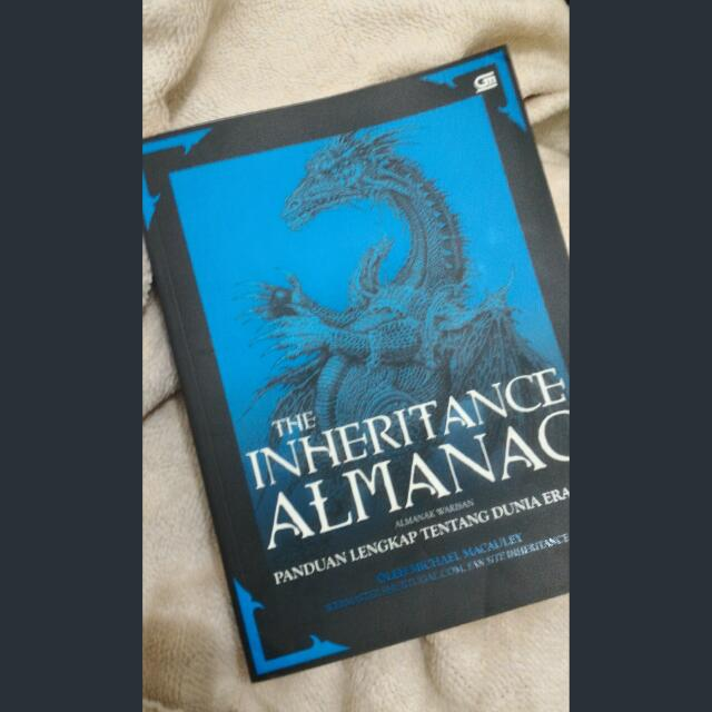 The Inheritance Almanac - Micahel Macauley