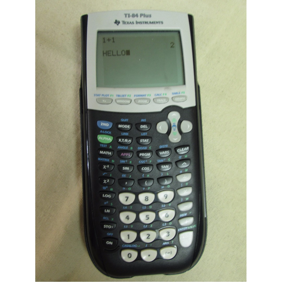 TI - 84 Plus Calculator