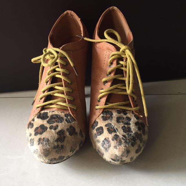 tip toe high heels sepatu hak tinggi